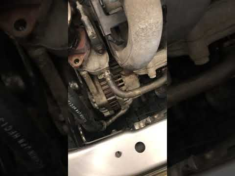 CLEANING THE EGR VALVE 2008 HONDA FIT