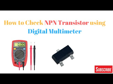 Transistor Ko Digital Multimeter Se Check Kaise Kre ?