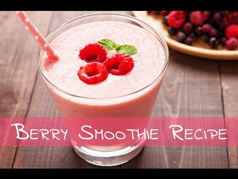 Berry Smoothie Recipe | How To Make Berry Smoothie