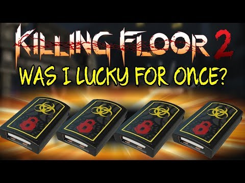 Killing Floor 2   UNBOXING SOME MORE! - Was This The Luckiest One Yet? (Play What You Unbox)