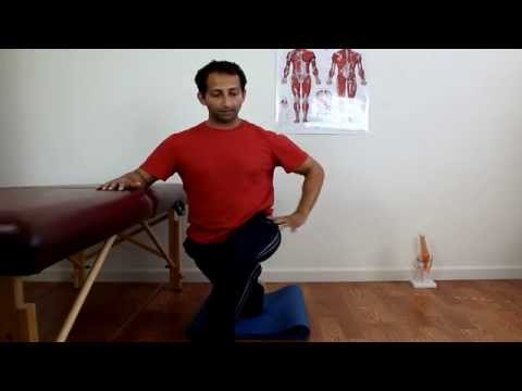 Outside Thigh Stretch For Iliotibial Band Pain | Manu Kalia | Video 134 | TridoshaWellness