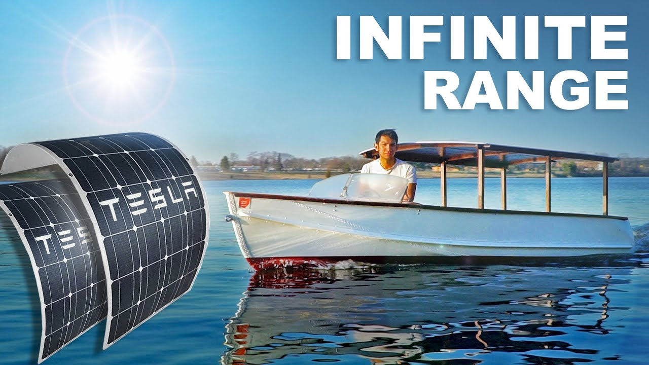 Solar Powered Electric Boat!! (Part 1)