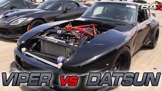 Supercharged V8 Datsun vs  2015 SRT Viper