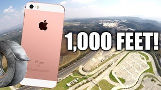 Can Duct Tape Protect iPhone SE from 1,000 Feet DROP TEST?!!