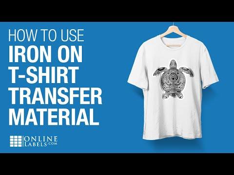 Transfer Paper T-shirt Transfer Paper Material Iron On Inkjet Transfer Material