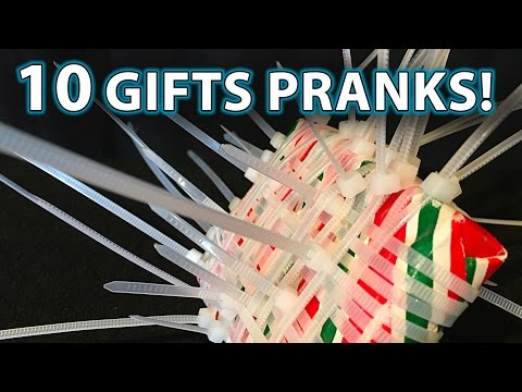 10 BEST Holiday/Christmas Gift PRANK Ideas!