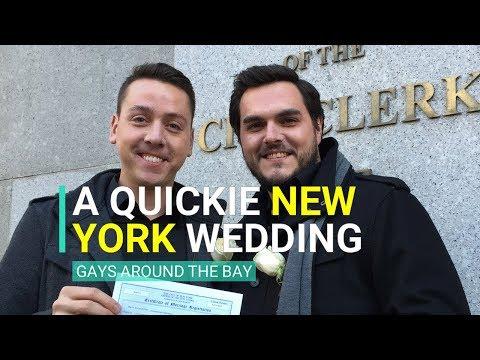 A Quickie Gay New York Wedding