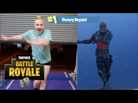FORTNITE DANCES IN REAL LIFE #BOOGIEDOWN CHALLENGE