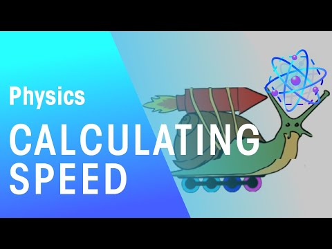 Calculating Speed | Forces and Motion | The Fuse School