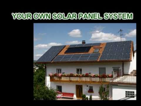 Solar Panel DIY - Make Your Own Solar Panels Build A Solar Panel System
