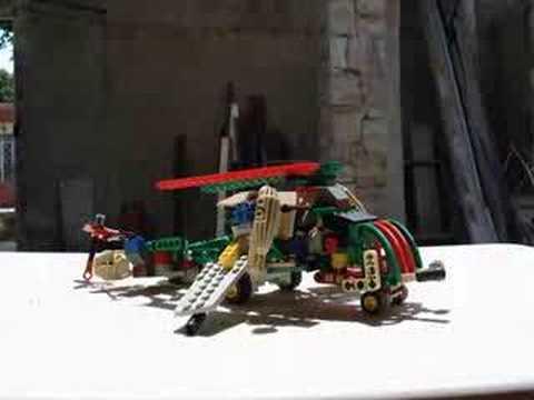 BlackOut Lego Tranformer