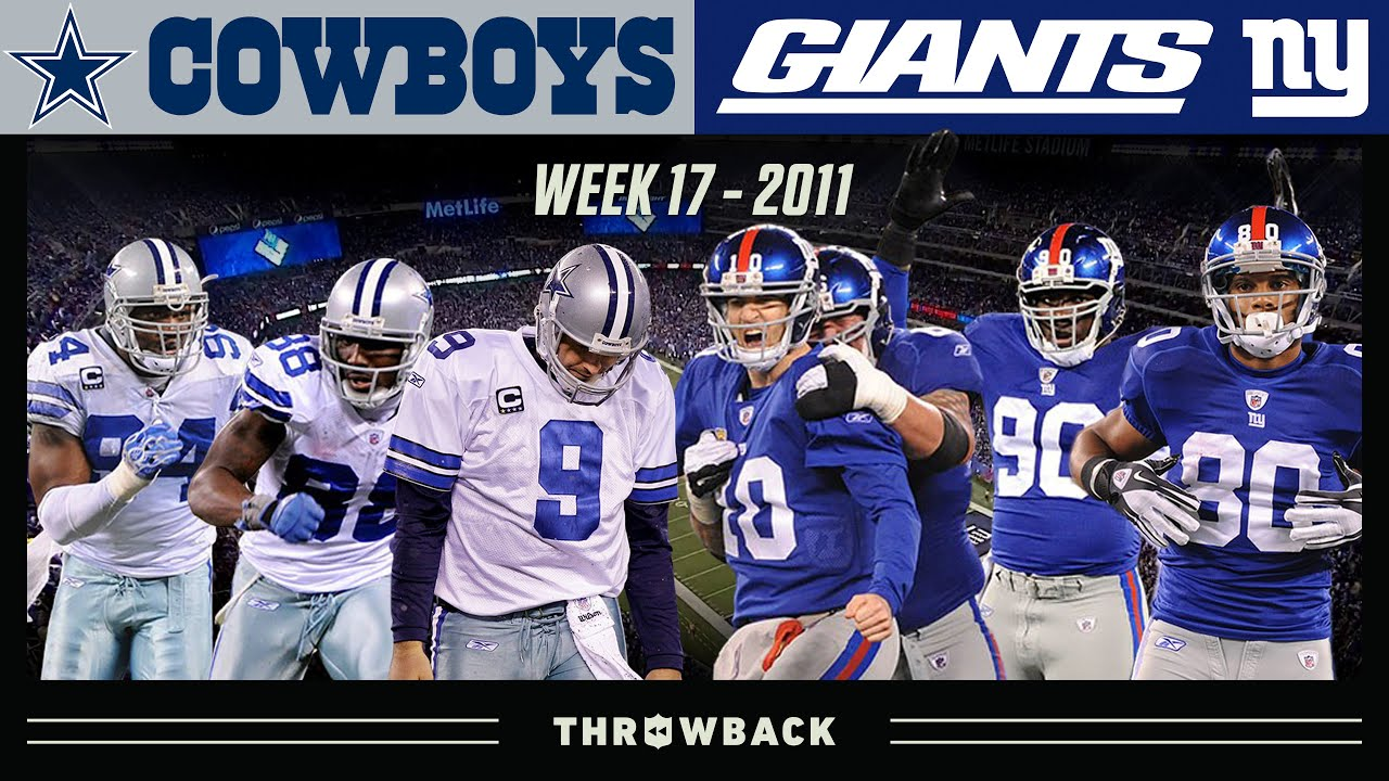 Win Or Go Home: For the NFC East Title! (Cowboys vs. Giants 2011, Week 17)