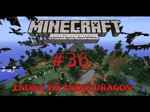 Minecraft Xbox 360 - Ending The Ender Dragon - #36 Using Eye of Enders To Find Stronghold