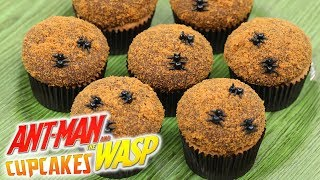 HOW TO MAKE ANT-MAN CUPCAKES - NERDY NUMMIES