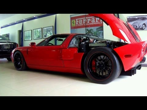 Racing Ford GT American Supercar