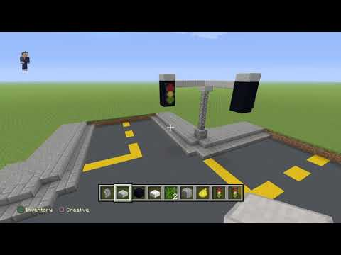 Minecraft s1 ep4 how to build a traffic light