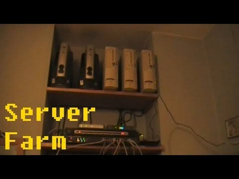 My 'Server Farm'! Marking 10 Years Service from My Vintage Servers.