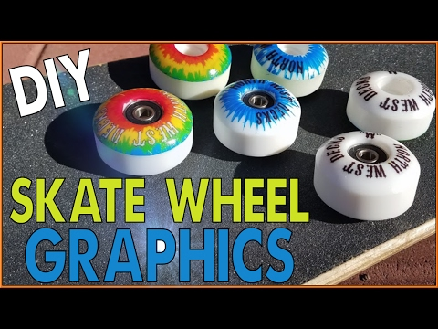 Custom Skateboard Wheel Graphics!