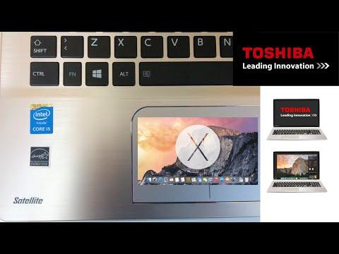 Toshiba Satellite Yosemite OS X