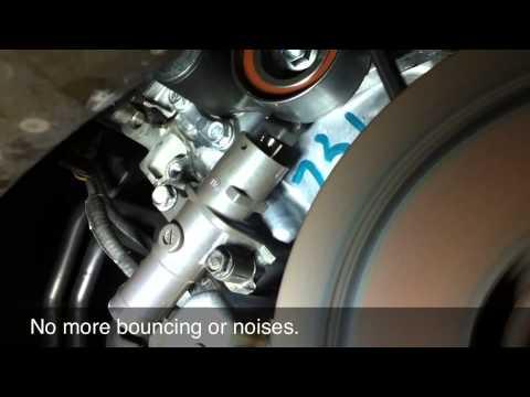 2007 Honda Odyssey timing belt tensioner