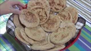 طريقة عمل خبز الشوفان Oat Bran Pita Bread