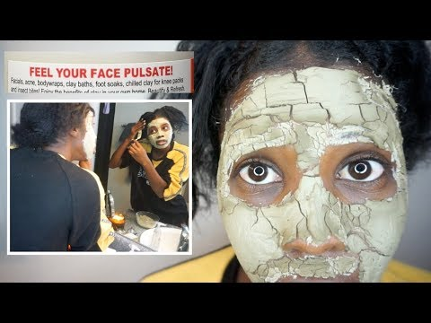 MOST POWERFUL PULSATING Face Mask! Aztec Indian Healing Clay