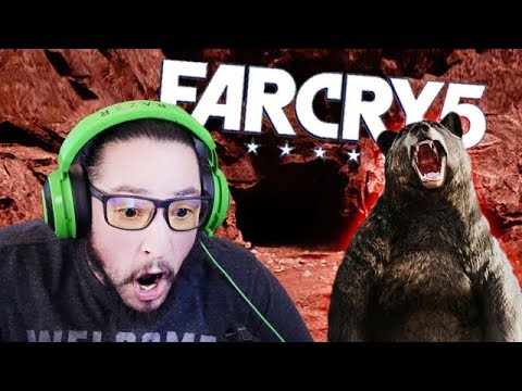 2 MEN ATTACK LOCAL BEAR HOME - FAR CRY 5 FUNNY HIGHLIGHTS