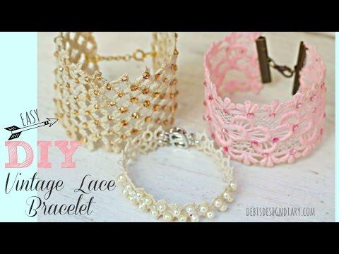 DIY Lace Jewelry