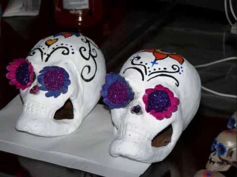 How To Make A Sugar Skull Decoration