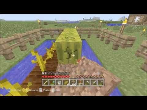 Minecraft Xbox 360 - How to get Melons / Melon Farm Tutorial