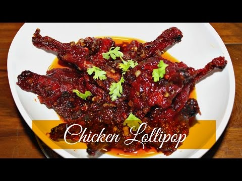 How to make Chicken Lollipop | Spicy Chicken Lollipops Recipe | Easy Chicken Starter