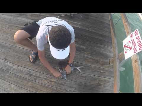 Pier fishing Rockport TX