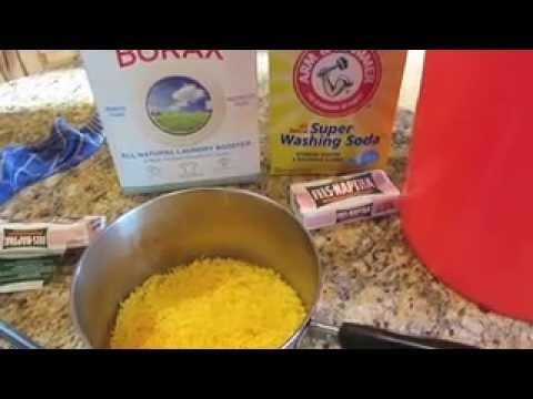 DIY Homemade Laundry Soap Recipe CHEAP