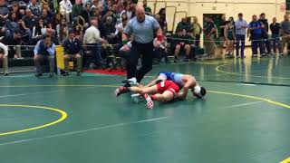 Richie Koehler of CBA wins by pin in Region 6 quarters