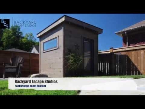 Pool Change Room 8x8 Backyard Escape Studios
