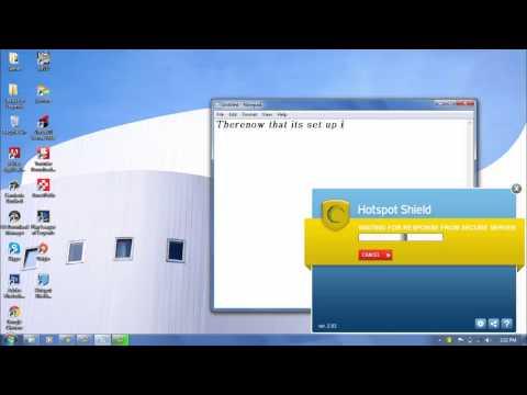 (Hotspot Shield) How to install