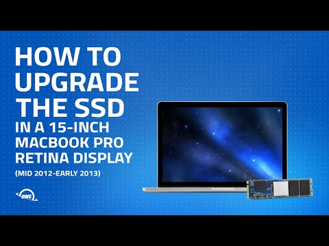 How to Upgrade the SSD in a 15-inch MacBook Pro w/ Retina display (Mid 2012–Early 2013) UPDATED
