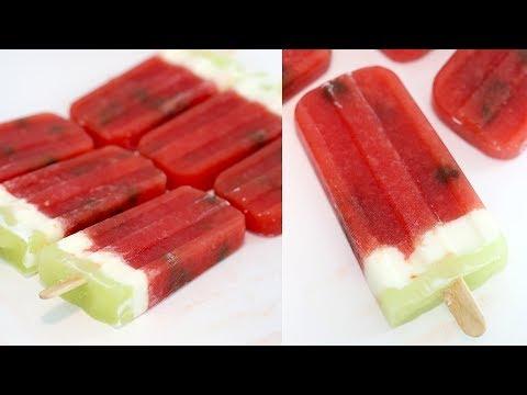 Watermelon Popsicles | RECIPE