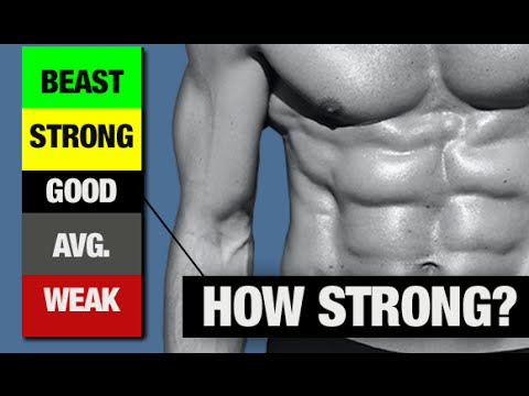 How Strong Are Your Abs (TAKE THIS TEST!)