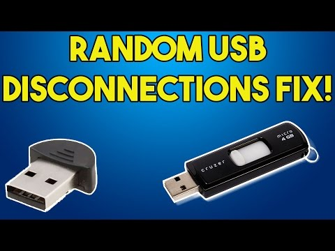 How to Fix USB devices Turning off Randomly in Windows 7/8/8.1/10