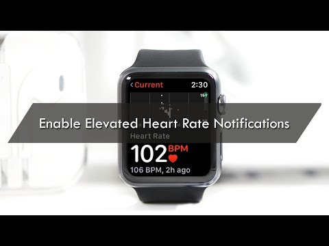 How to Enable Elevated Heart Rate Notifications on Apple Watch