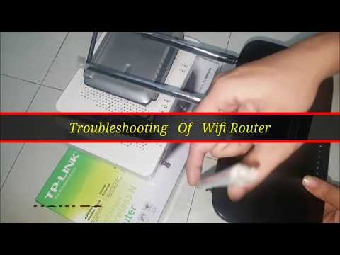 Wifi Router Basic Troubleshooting | How to Reset wifi Routers