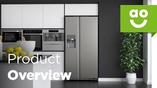 Samsung American Fridge Freezer RH56J69187F Product Overview | ao.com
