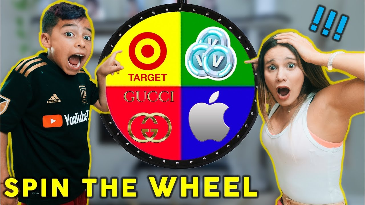 Spin The MYSTERY WHEEL And BUYING Whatever It Lands On Challenge! | The Royalty Family