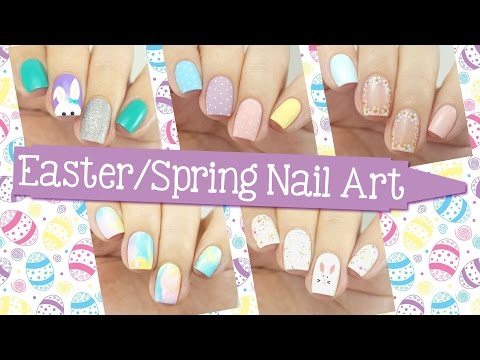 Easter & Spring Nail Art Ideas! 5 Easy Designs
