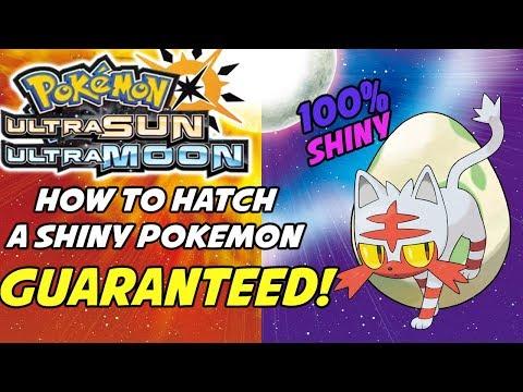 How to Hatch Guaranteed Shiny Pokemon in Pokemon Ultra Sun and Ultra Moon! Shiny Swap Method