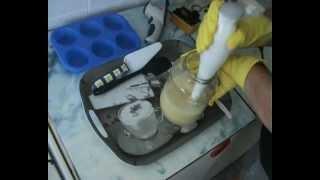 Szappankészítés házilag szappan készítés sebszappan