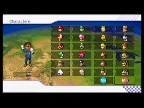 Mario Kart Wii Online Friend Game 4
