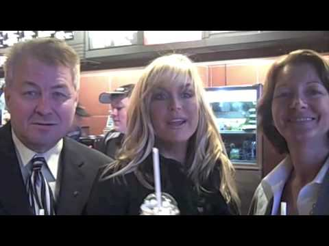 McDONALDS HOSTS ACTRESS CATHERINE HICKLAND IN CELEBRATION OF NEW FRAPPÉ