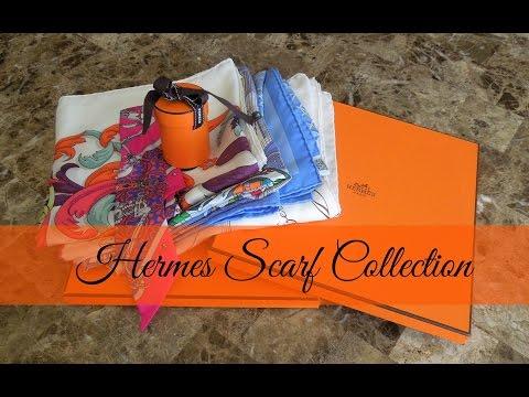 Designer Scarf Collection Part 1- Hermes Scarves